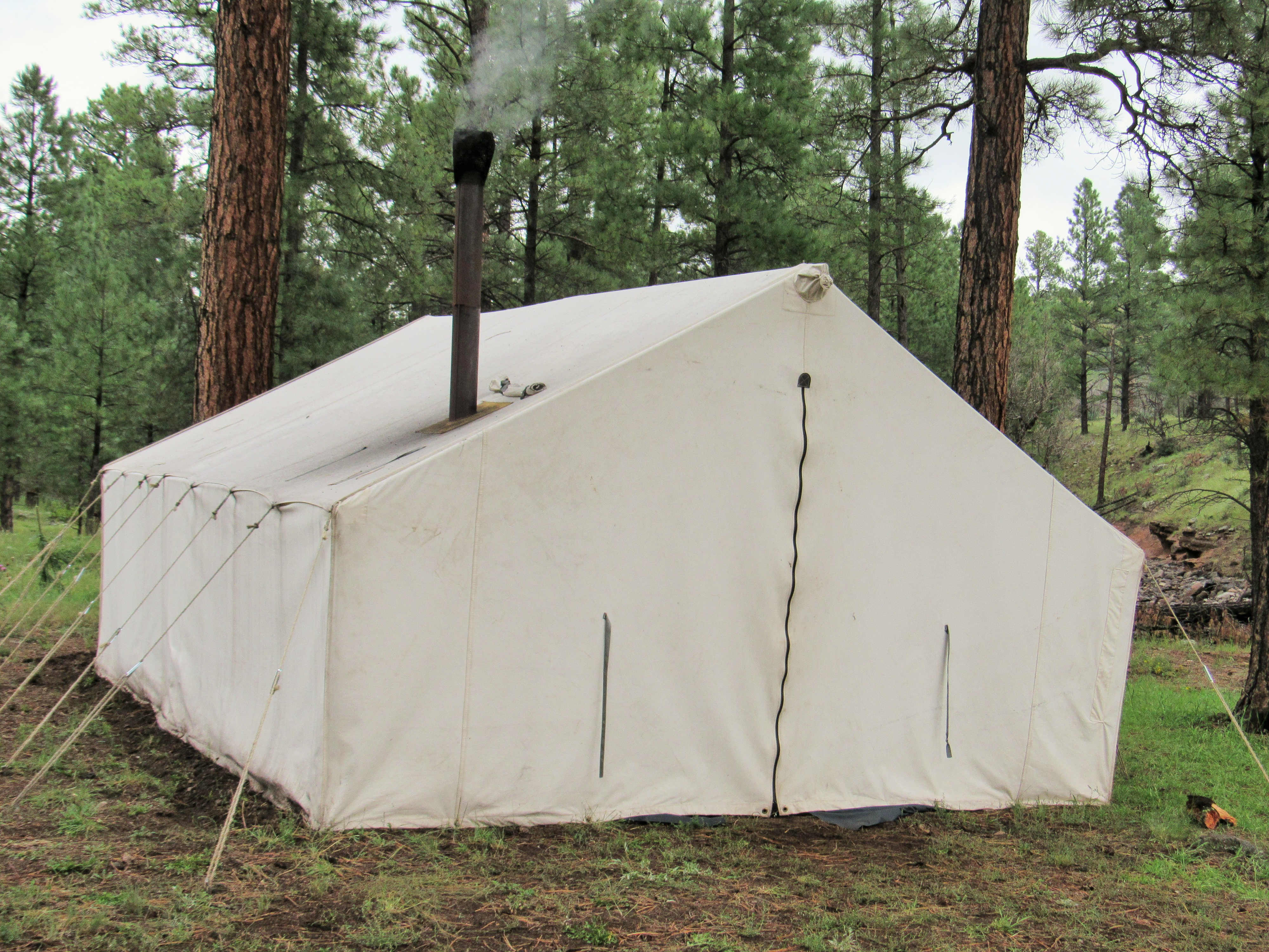 Hunting Outfitters tent