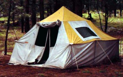 Elk Hunting Tent